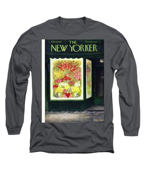 New Yorker February 14 1953 Long Sleeve T-Shirt
