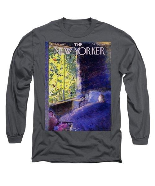 New Yorker July 16 1955 Long Sleeve T-Shirt