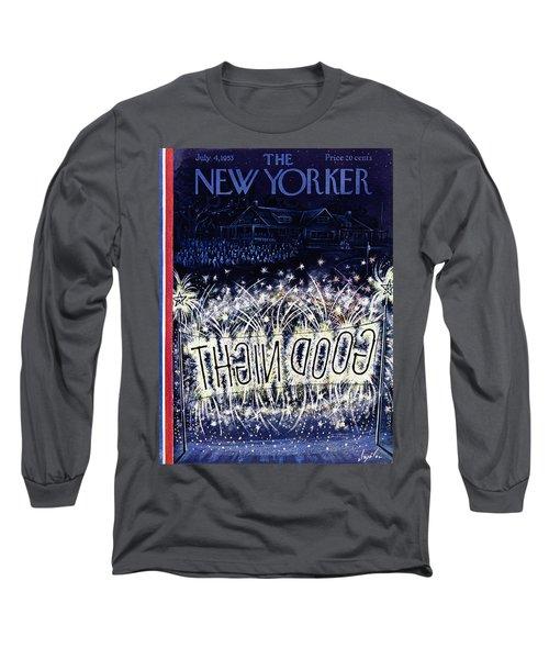 New Yorker July 4 1953 Long Sleeve T-Shirt