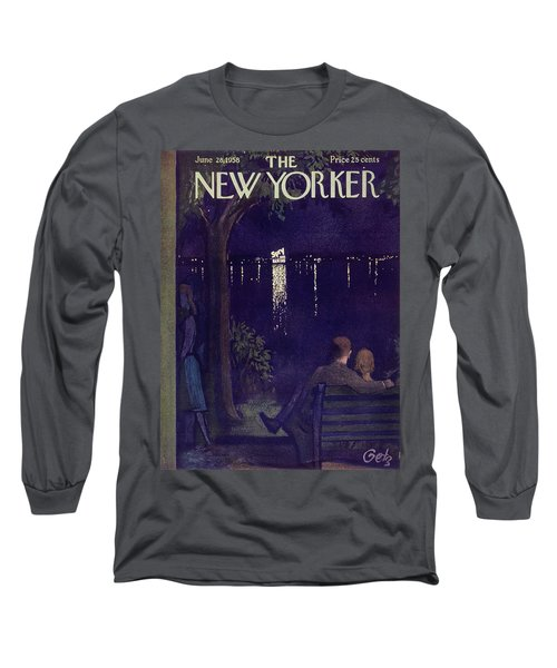 New Yorker June 28 1958 Long Sleeve T-Shirt