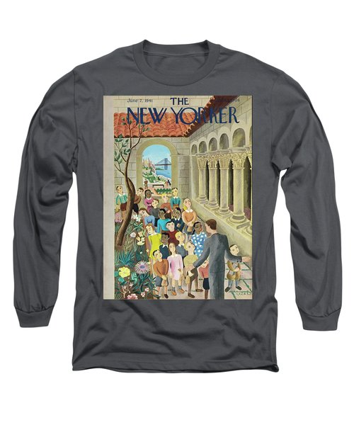 New Yorker June 7 1941 Long Sleeve T-Shirt