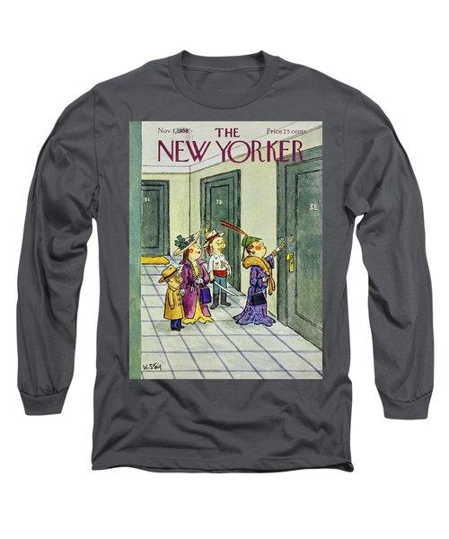 New Yorker November 1 1958 Long Sleeve T-Shirt