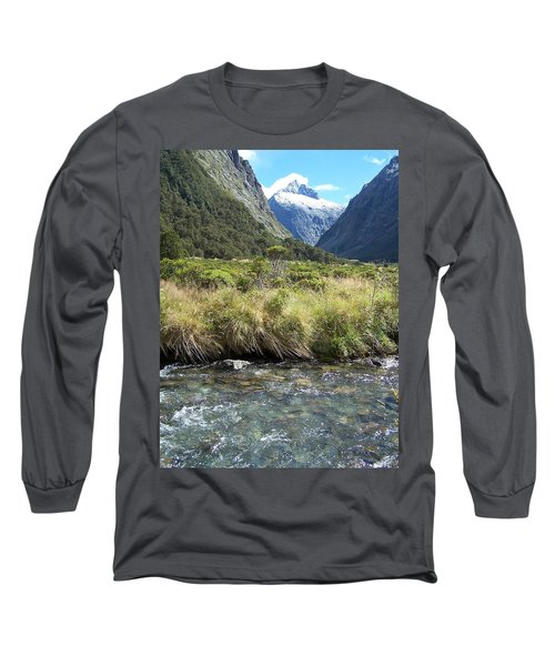 New Zealand Landscape 2 Long Sleeve T-Shirt