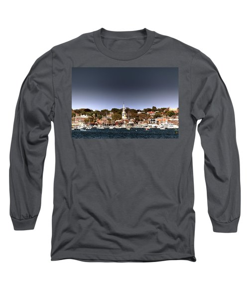 Long Sleeve T-Shirt featuring the photograph Newport by Tom Prendergast
