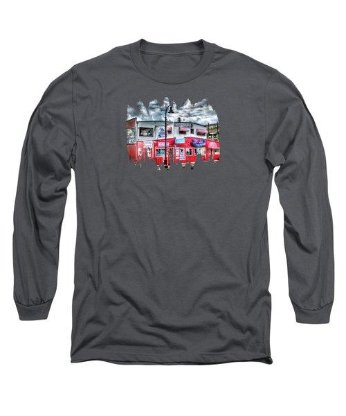 Newport Tradewinds And Mo's Long Sleeve T-Shirt by Thom Zehrfeld