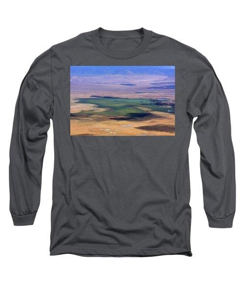 Ngorongoro Crater Tanzania Long Sleeve T-Shirt