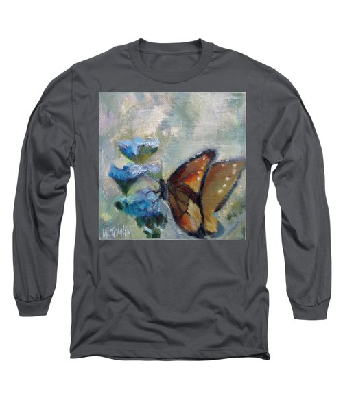 Nibbling Nectar Long Sleeve T-Shirt