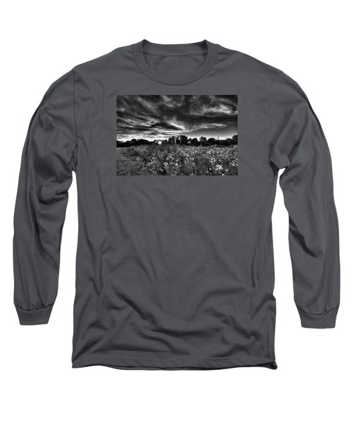 Nice And Cloudy At Sunset Long Sleeve T-Shirt