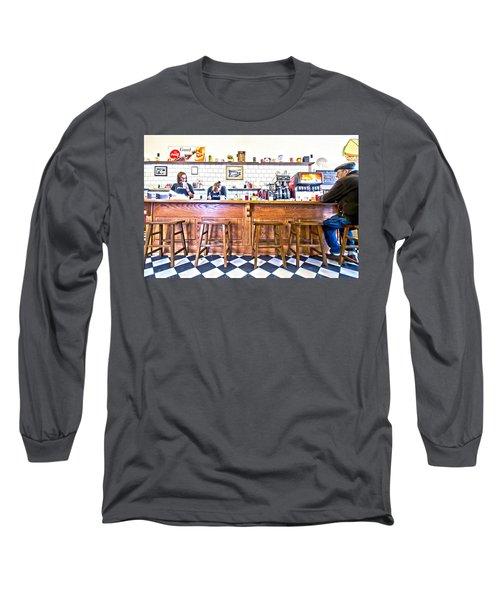 Nick's Diner Long Sleeve T-Shirt