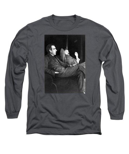 Niels Bohr And Albert Einstein Long Sleeve T-Shirt