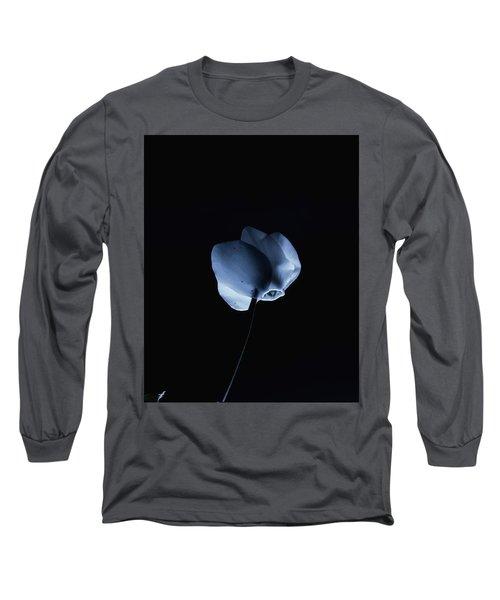 Night And A Blue Light Long Sleeve T-Shirt