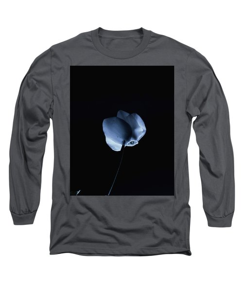 Night And A Blue Light Long Sleeve T-Shirt