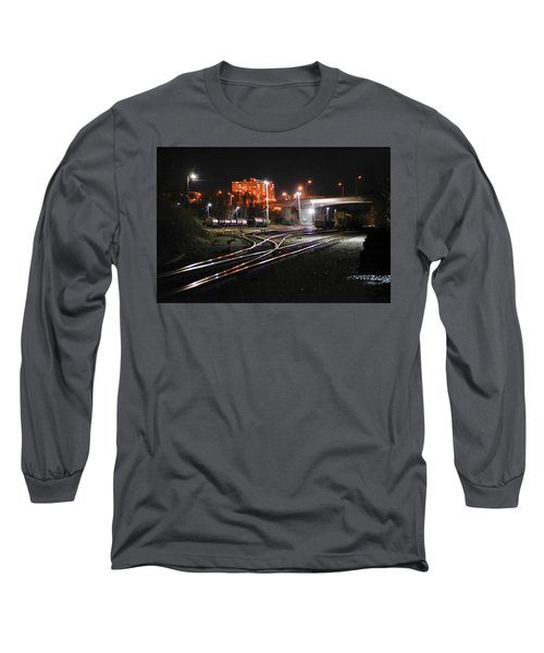 Night At The Railyard Long Sleeve T-Shirt