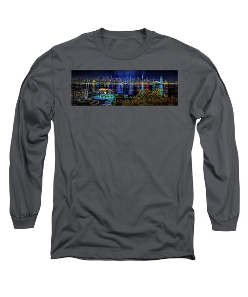 Night Beauty Long Sleeve T-Shirt