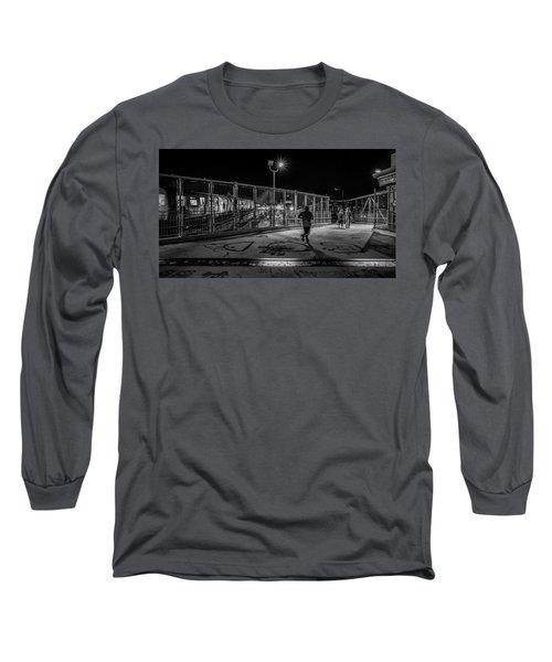 Night Commute  Long Sleeve T-Shirt by Jeffrey Friedkin
