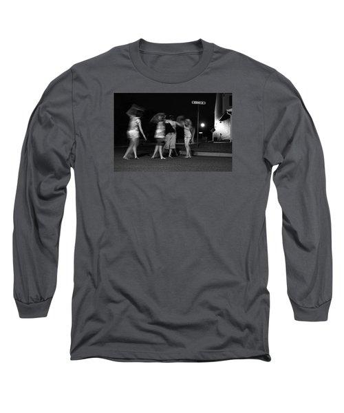 Night Dancing Long Sleeve T-Shirt
