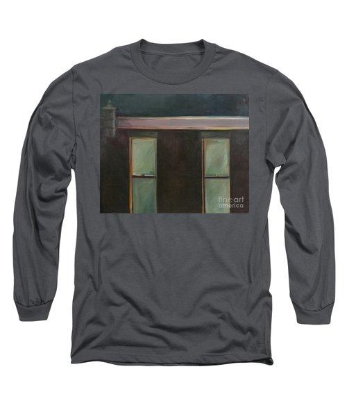 Night Long Sleeve T-Shirt by Daun Soden-Greene