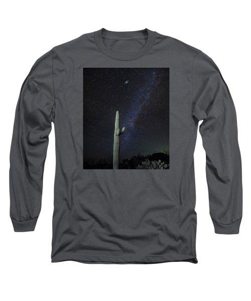 Night Desert Skies Long Sleeve T-Shirt