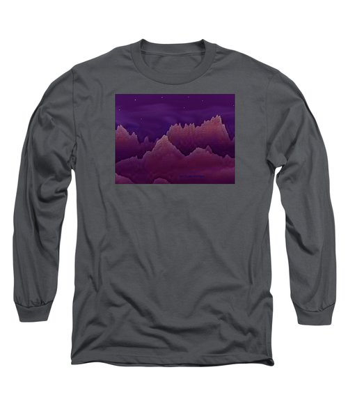 Long Sleeve T-Shirt featuring the digital art Night by Dr Loifer Vladimir