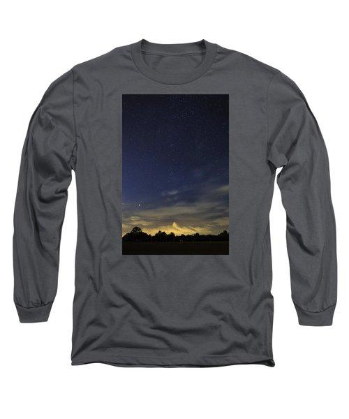 Night Dream Long Sleeve T-Shirt by Martin Capek