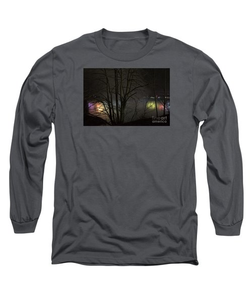Night Falls Long Sleeve T-Shirt by Judy Wolinsky