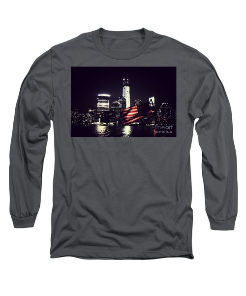Night Flag Long Sleeve T-Shirt