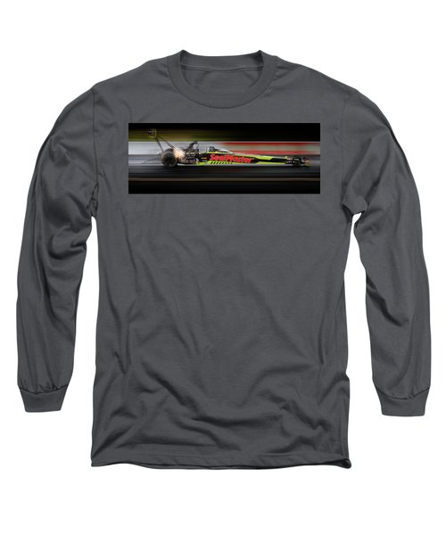 Long Sleeve T-Shirt featuring the digital art Night Flight by Peter Chilelli