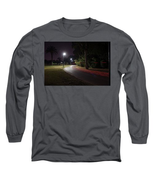 Long Sleeve T-Shirt featuring the photograph Night In The Park by Dubi Roman