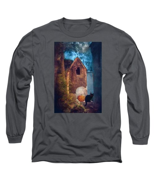 Night Of Halloween Long Sleeve T-Shirt