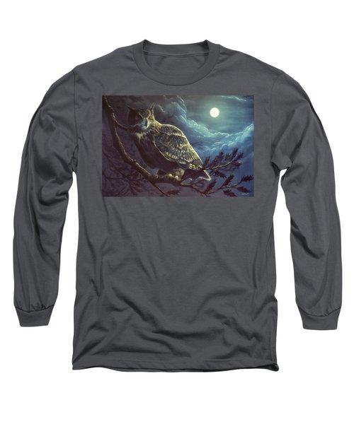 Night Owl Long Sleeve T-Shirt