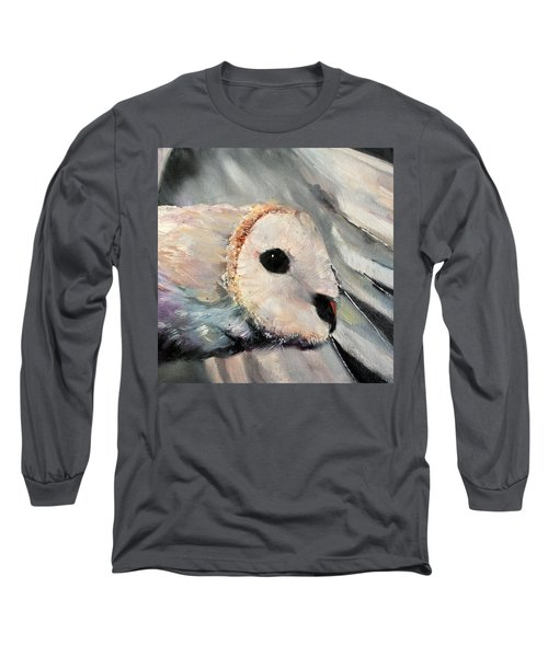 Night Owl Long Sleeve T-Shirt by Michele Carter