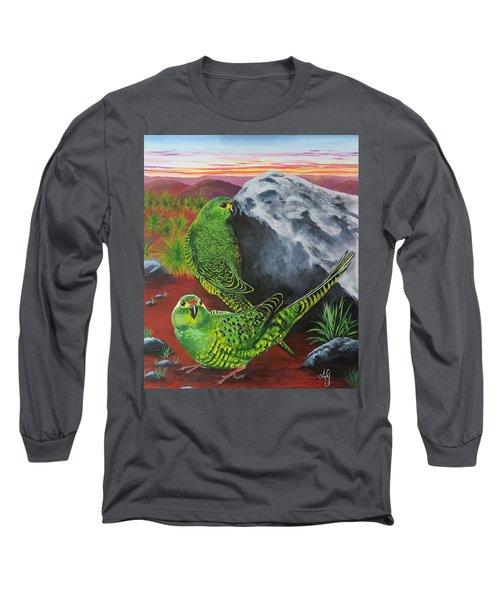 Night Parrots Long Sleeve T-Shirt