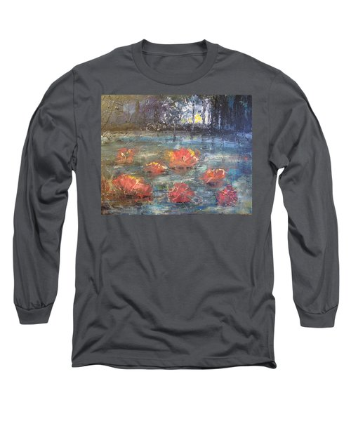 Night Pond Long Sleeve T-Shirt