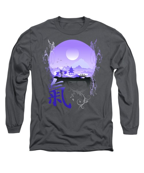 Long Sleeve T-Shirt featuring the photograph Night Qi by Robert G Kernodle