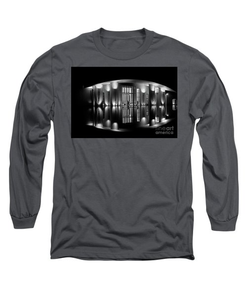 Night Reflection Long Sleeve T-Shirt by M G Whittingham