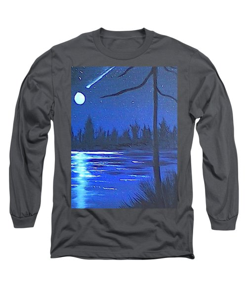 Night Scene Long Sleeve T-Shirt