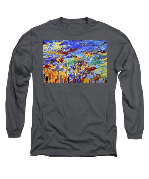 Night Sea Scape Long Sleeve T-Shirt