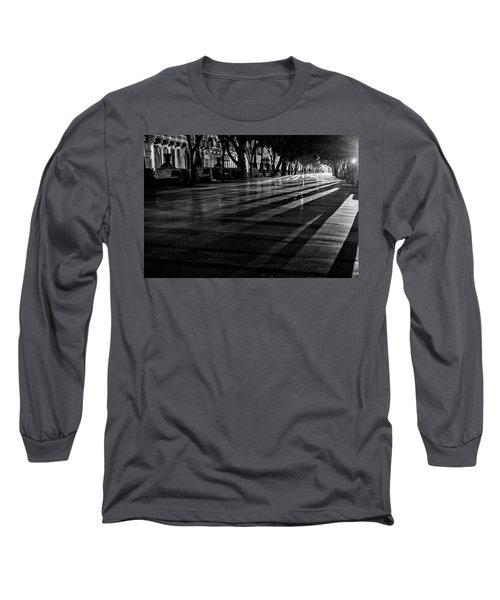 Night Shadows Long Sleeve T-Shirt