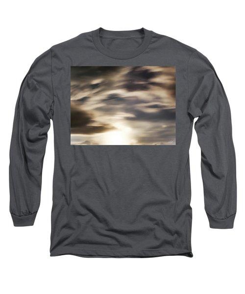 Night Sky 1 Long Sleeve T-Shirt by Leland D Howard