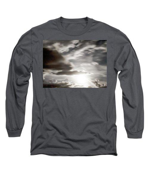 Night Sky 5 Long Sleeve T-Shirt by Leland D Howard