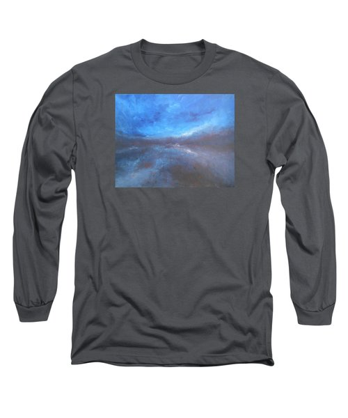 Night Sky Long Sleeve T-Shirt by Jane See