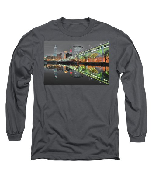 Long Sleeve T-Shirt featuring the photograph Night Time Glow by Frozen in Time Fine Art Photography