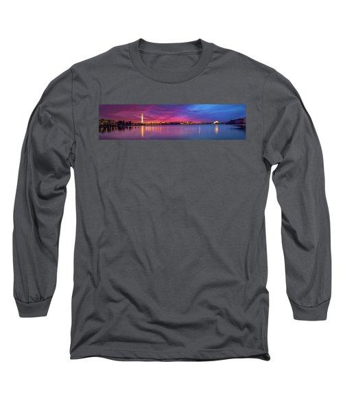 Night Unto Day Long Sleeve T-Shirt by Edward Kreis
