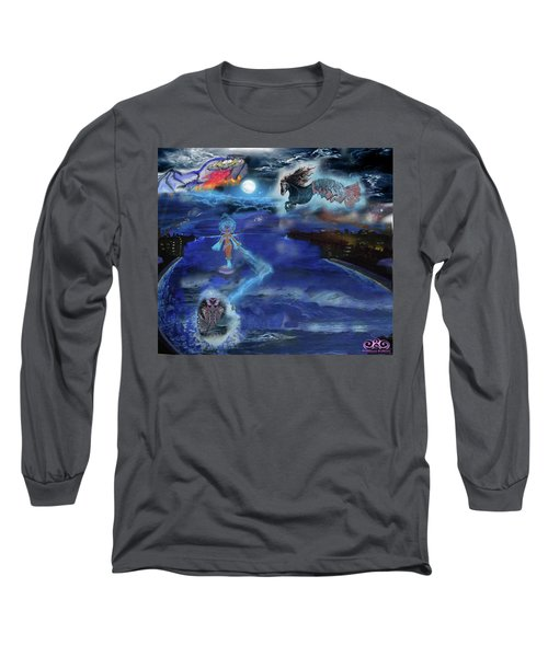 Night Walk Long Sleeve T-Shirt