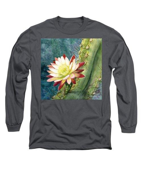 Nightblooming Cereus Cactus Long Sleeve T-Shirt