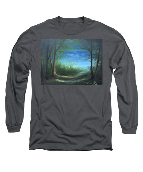 Nightfall In The Boggs  Long Sleeve T-Shirt