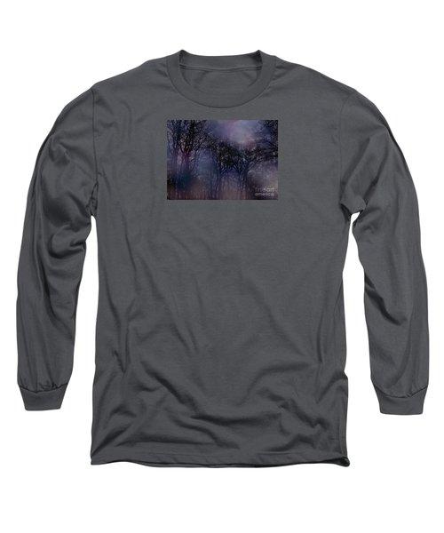 Nightfall In The Woods Long Sleeve T-Shirt