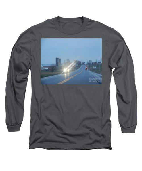 Nightime Travel Long Sleeve T-Shirt