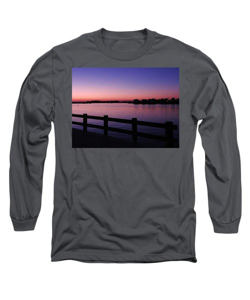 Night's Calling Long Sleeve T-Shirt by Allen Beilschmidt