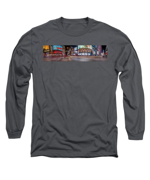 Nights On Broadway Long Sleeve T-Shirt
